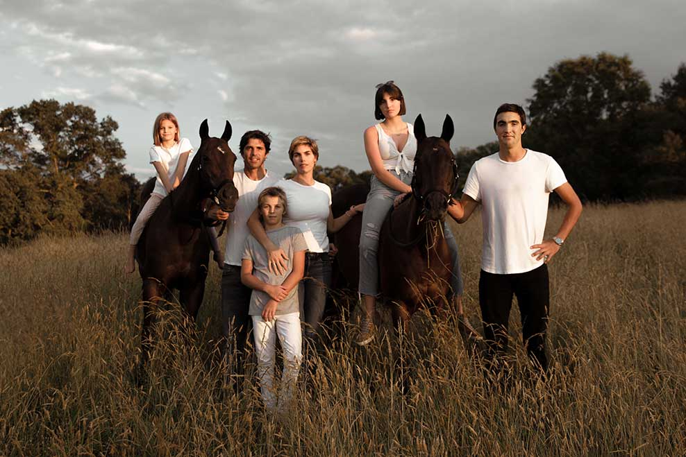 Top ranked professional polo player Ignacio 'Nacho' Figueras and family have secured their residence at Coach House.